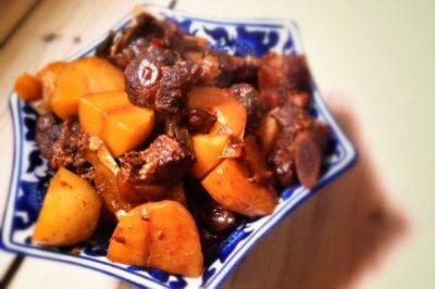 川香土豆烧排骨(健康无酱油)