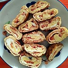 西红柿鸡蛋卷