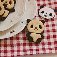 萌萌哒的熊猫饼干