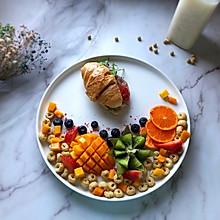 谷物水果早餐#秀出你的早餐#