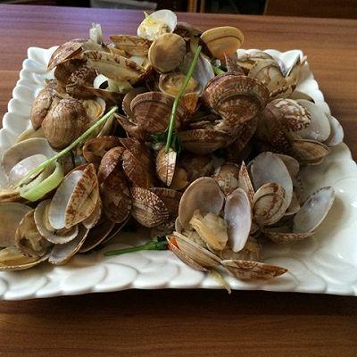 青岛名吃:辣炒蛤蜊