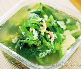 蛏干菠菜汤的做法