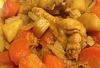 咖喱鸡翅根,土豆,胡萝卜的做法