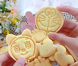 #糖小朵甜蜜控糖秘籍#黄油卡通饼干的做法