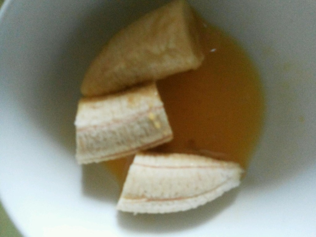 四合饼制作方法-香蕉 做法 炸香蕉汁的做法图解 香蕉饼的做法