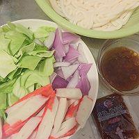 日式炒乌冬#丘比沙拉汁#的做法图解2
