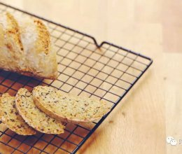 全麦杂粮苏打面包的做法