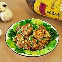 小蘑菇炖鸡#金龙鱼外婆乡小榨菜籽油 外婆的食光机#