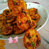 利仁电饼铛试用之香辣煎豆腐卷的做法图解5