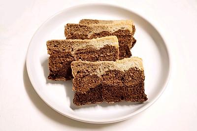 试色,可可面包该放多少可可粉呢?九宫格麸皮可可吐司