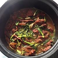 青菜烧牛肉的做法图解2