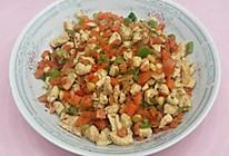 五彩缤纷——各色蔬菜炒鸡脯的做法