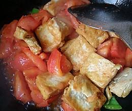 家常豆腐,西红柿烧豆腐的做法