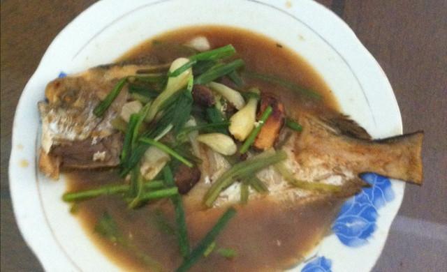 红烧鲳鱼的豆花_菜谱_豆果做法美食用什么做黄豆图片