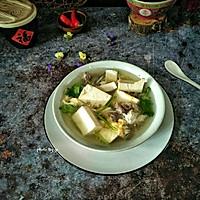 豆腐牛肉汤#节后清肠大作战#的做法图解8