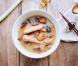 秋季养生小鸡炖山蘑