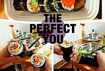 沙拉寿司的做法