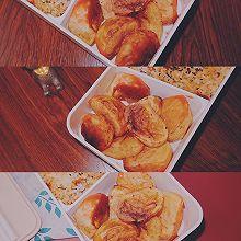 #夏日撩人滋味#无油烤薯角