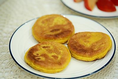 南瓜米粉饼
