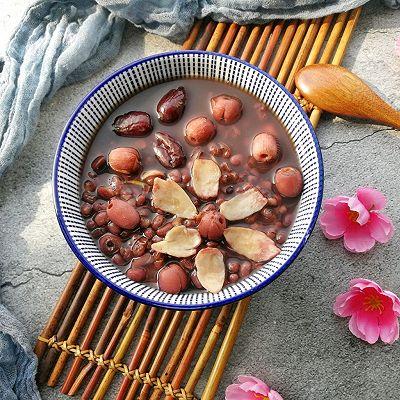 红枣莲子百合红豆水