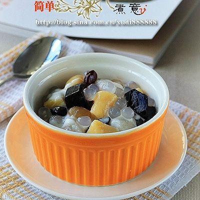 家庭版台湾甜品鲜芋仙