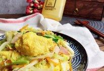 #植物蛋 美味尝鲜记#植物蛋版 家常小炒皇的做法
