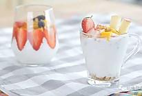 燕麦酸奶水果杯的做法