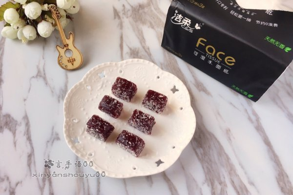 覆盆子法式水果软糖#洁柔食刻,纸为爱下厨#的做法