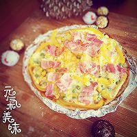 利仁电饼铛试用——海陆双拼披萨(附薄饼底与披萨酱制作)的做法图解17