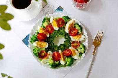 花环蔬果沙拉