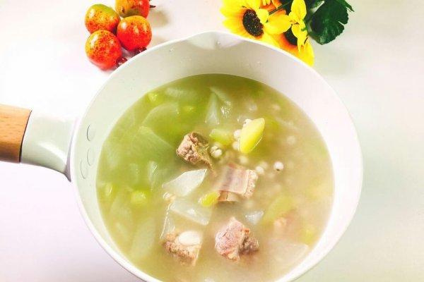 冬瓜薏米排骨  宝宝健康食谱的做法
