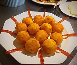 黄金土豆芝士球的做法