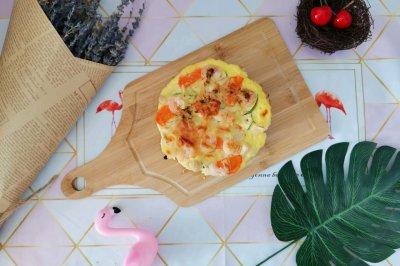 蔬菜海鲜披萨(减脂菜单)