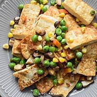 什锦豆腐 | 家常素食小菜的做法图解8