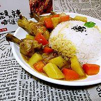 小鸡腿咖喱饭#安记咖喱快手菜#