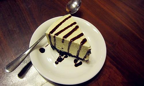 咖啡店专属 巧克力 酸奶冻芝士蛋糕的家常做法的做法