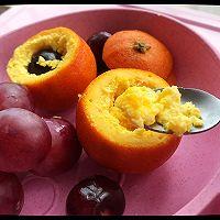 橙子蒸蛋的做法图解4