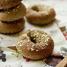 黑芝麻贝果(附详细整形方法)#熙悦食品高筋小麦粉#