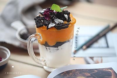 芒果奥利奥酸奶