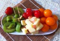 简单水果拼盘的做法