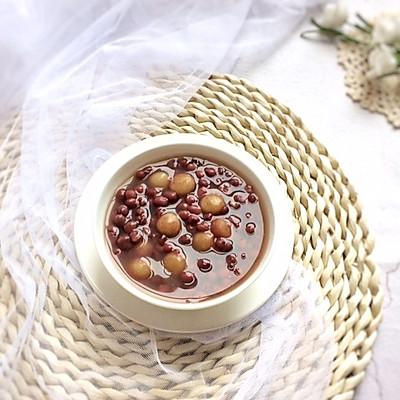 红豆沙小丸子糖水
