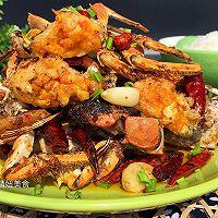 【香辣螃蟹】~鲜香辣的做法图解10