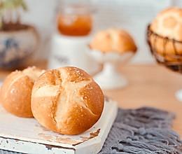 简单的烫种法花样小面包的做法