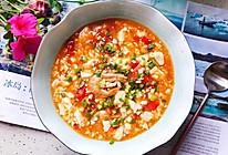 #秋天怎么吃#西红柿虾干豆腐羹的做法