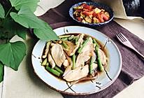 鸡胸肉炒芦笋的做法