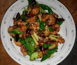 青椒煸鸡翅的做法
