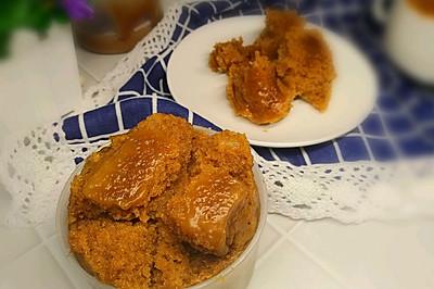 大米制作Q软黑糖发糕