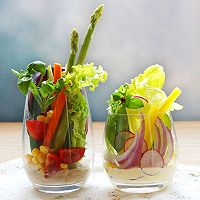 丘比沙拉汁、沙拉酱-蔬菜沙拉杯