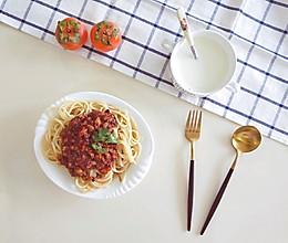 茄汁肉酱意面的做法