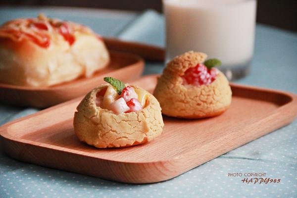 #柏翠辅食节—夏季辅食#脆皮酸奶水果盅的做法